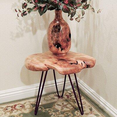 Cedar Wood Small End Table