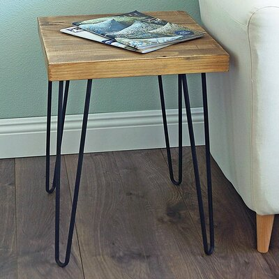Lerner Old Elm Wood End Table