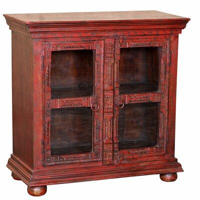 World Interiors Mumbai Darun 2 Door Chest - Finish: Antique Red at Sears.com