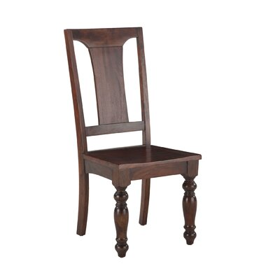 CDiningela Reclaimed Neem Solid Wood Dining Chair (Set of 2)