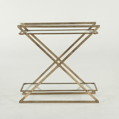 Mirabelle Iron and Glass Console Table