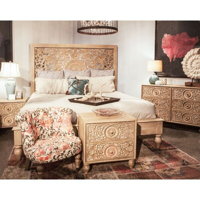 Haveli King Platform Customizable Bedroom Set