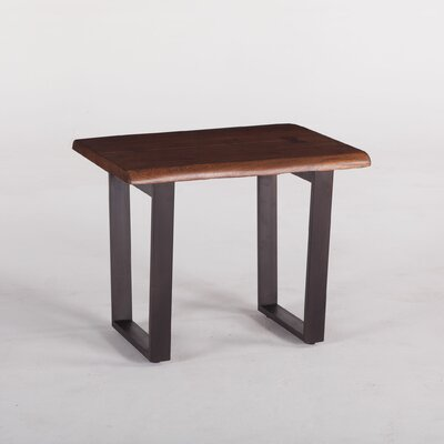 Belfrie Acacia Wood End Table