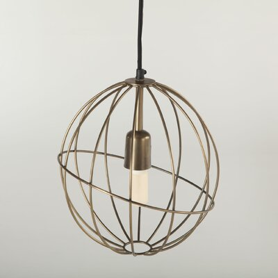 Nikola 1-Light Globe Pendant