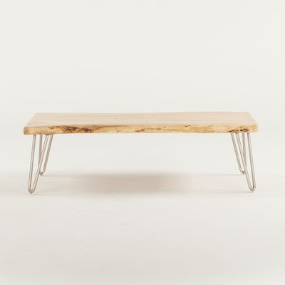 Grandby Acacia Live Edge Coffee Table