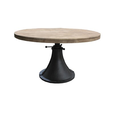 Mango Wood Adjustable Dining Table