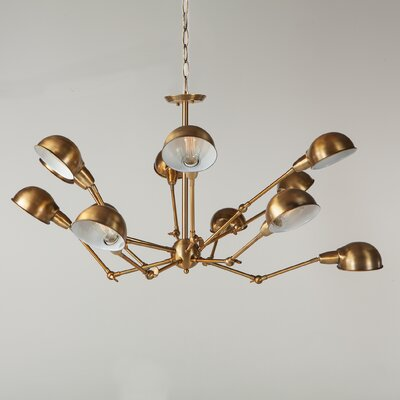 Spider 12-Light Sputnik Chandelier