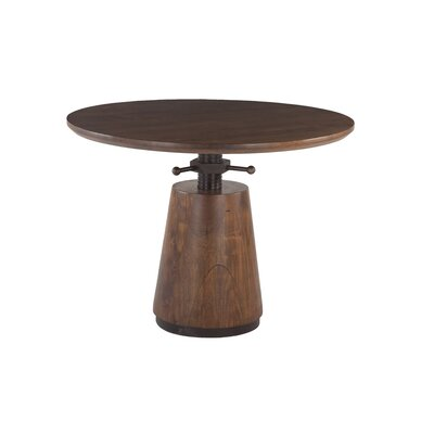 Amici Acacia Wood Adjustable Dining Table
