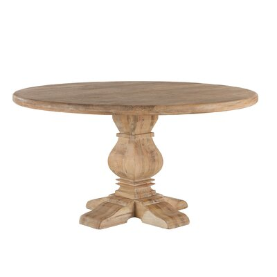 Mango Wood Dining Table Size: 30 H x 60 W x 60 D