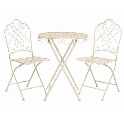 2-Sitzer Balkonset Avalon | Garten > Balkon > Balkon-Sets | Beige | Prestington
