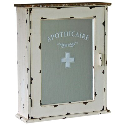 Vintage Boulevard Apothicaire Cabinet