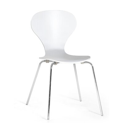 Kailen Dining Chair Color: White
