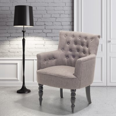Rita Armchair Upholstery: Light Gray
