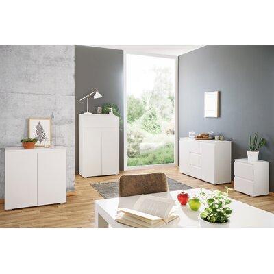 Nachttisch Acord mit 2 Schubladen | Schlafzimmer > Nachttische | White | Abs | All Home