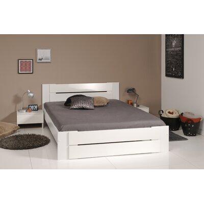 Mattera Full Panel Bed Color: Shiny White