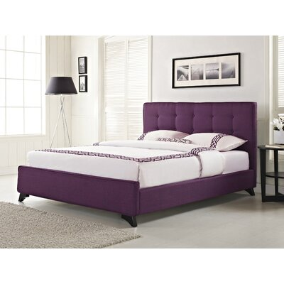 Nola Upholstered Bed Bed Size: 55