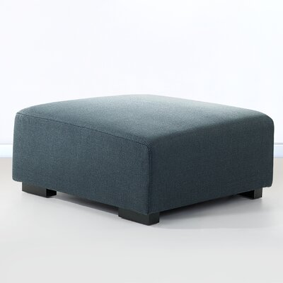 Cronin Ottoman Upholstery: Dark gray