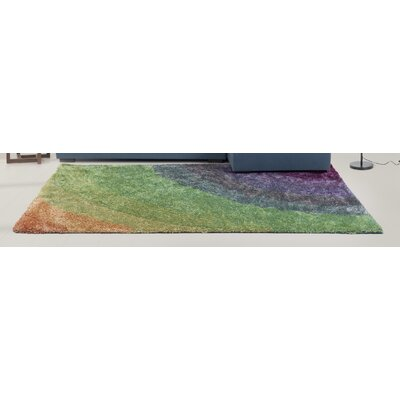 Siobhan Green Area Rug Rug Size: Rectangle 66 x 76