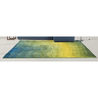 Yseult Yellow/Green Area Rug Rug Size: Rectangle 910 x 131