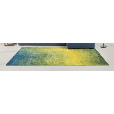 Yseult Yellow/Green Area Rug Rug Size: Rectangle 66 x 76