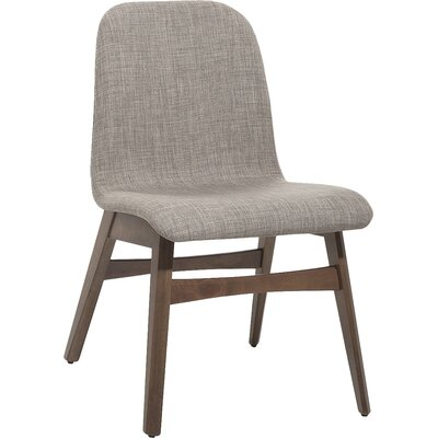 Faolan Dining Chair Upholstery: Light gray