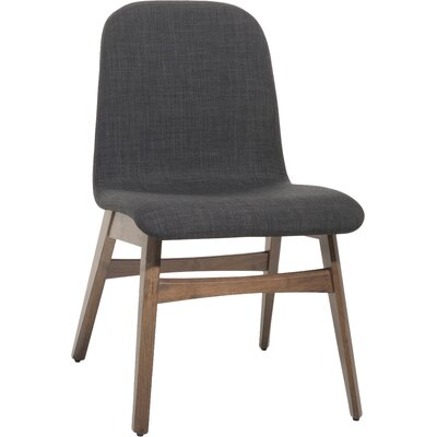 Faolan Dining Chair Upholstery: Dark gray