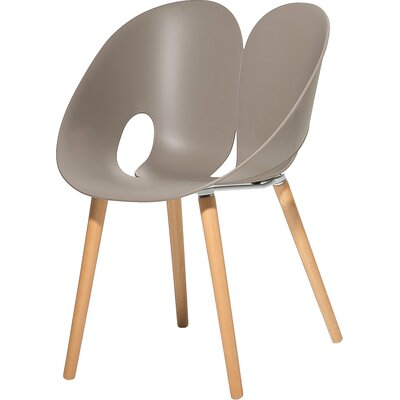 Silbeal Dining Chair Color: Light gray