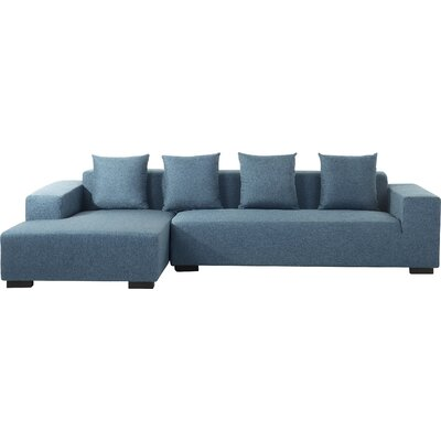 Cronin Corner Sofa Upholstery: Blue, Orientation: Right