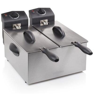 6 L Doppel-Fritteuse Galaxy | Küche und Esszimmer > Küchengeräte > Fritteusen | Home Etc