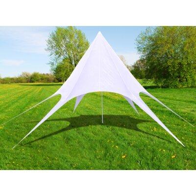 1000 x 1000 cm Sonnensegel Stern | Garten > Sonnenschirme und Markisen > Sonnensegel | White | Home Etc