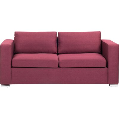 Niamh 2 Seater Sofa Upholstered: Burgundy