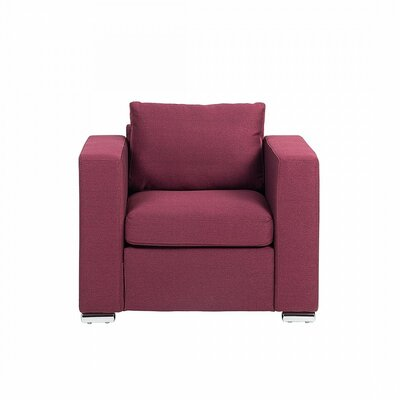 Niamh Club Chair Upholstered: Burgundy