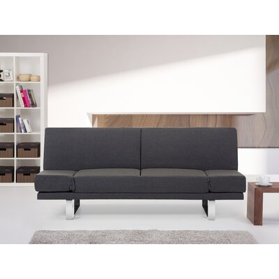 Kent 2 Seater Reclining Sofa Bed Upholstery: Brown