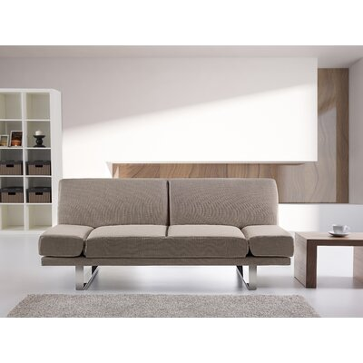 Kent 2 Seater Reclining Sofa Bed Upholstery: Tan