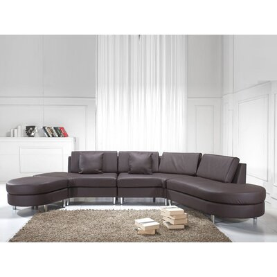 Fordoun Sofa Set Upholstery: Brown