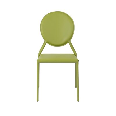 Isabella Side Chair Color: Green