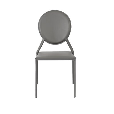 Isabella Side Chair Color: Gray