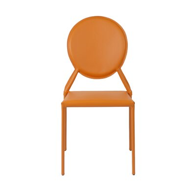 Elmhurst Side Chair Color: Orange