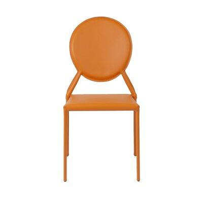 Isabella Side Chair Color: Orange