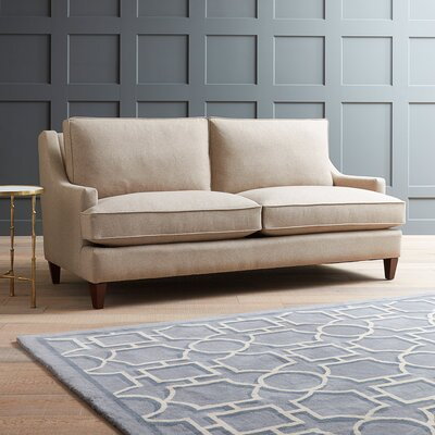 Hathaway Sofa Upholstery: Empire Steel