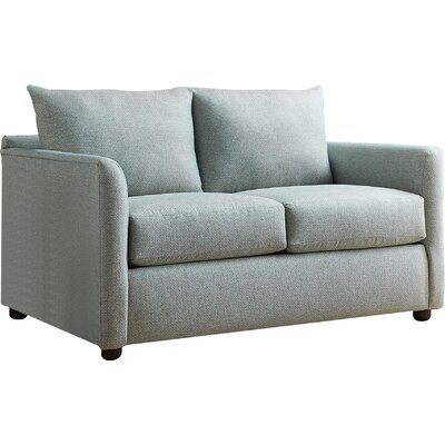 Alice Loveseat Body Fabric: Nobletex Platinum