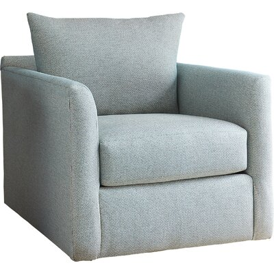 Alice Swivel Arm Chair Upholstery: Nobletex Rain
