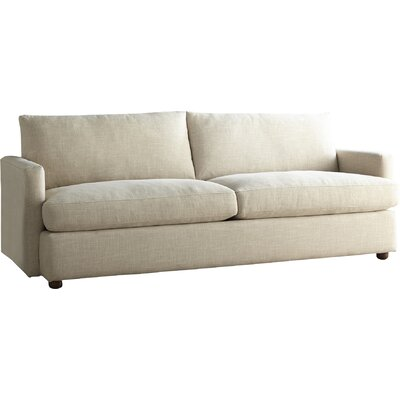 Asher Extra Large Sofa Body Fabric: Zula Rawhide