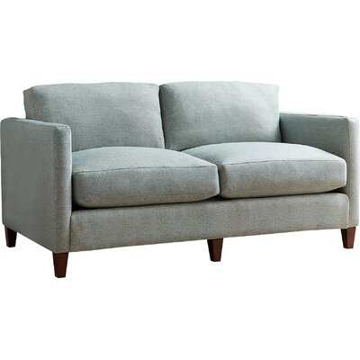 Beau Loveseat Fabric: Nobletex Rain