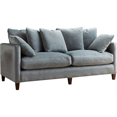 Victoria Studio Sofa Upholstery: Empire Steel