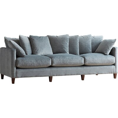 Victoria Sofa Body Fabric: Devon Pewter