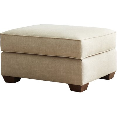 Johnnie Ottoman Fabric: Devon Heather