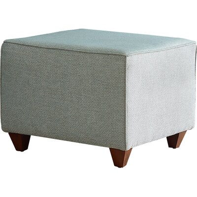 Beril Ottoman Fabric: Devon Pewter