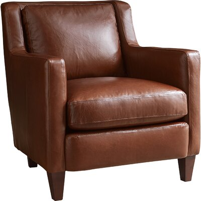 Barstow Chair Leather: Cognac Leather