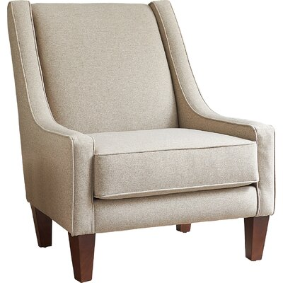 Arthur Armchair Body Fabric: Zula Linen